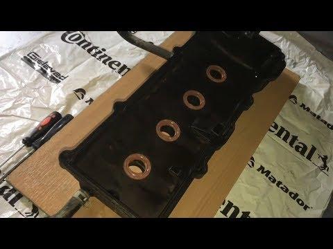 Ремонт крышки клапанов NISSAN EXPERT VNW11