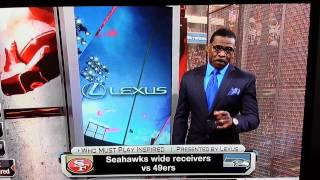 Michael Irvin goes off on Seahawks WR Golden Tate