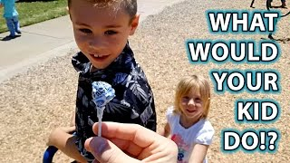 getlinkyoutube.com-Child Predator Social Experiment: Would YOUR KID Take Candy From a Stranger?