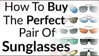 Perfect Sunglasses For Face Shape | How To Buy Right Shades | Aviator Wayfarer Sun Glass Styles
