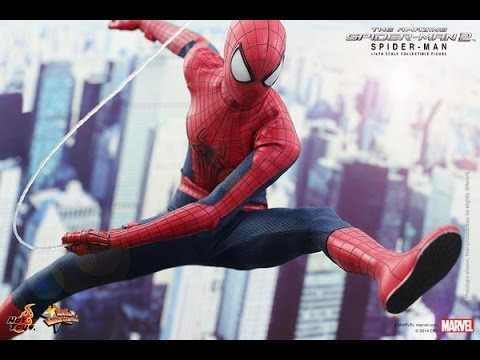 Hot Toys Amazing Spider-Man 2 Action Figure Photos Released
