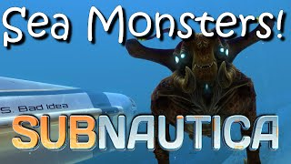 getlinkyoutube.com-Subnautica Monsters Update!  New Reaper Leviathan and Sea Emperor!