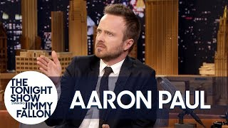 Rihanna Chased Down Aaron Paul in a Parking Lot