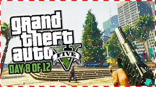 getlinkyoutube.com-GTA 5 Funny Moments - CALL OF DUTY First Person CHRISTMAS! (Day 8 of 12) (GTA 5 Christmas Special)
