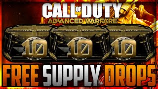 "getlinkyoutube.com-""EARN FREE ADVANCED SUPPLY DROPS"" COD AW: How To Get Over $200 of Free Advanced Supply Drops!!"