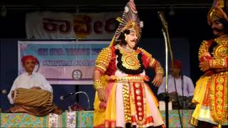 getlinkyoutube.com-Yakshagana Sudhanvarjuna - Washington USA - Kondadakuli Troupe