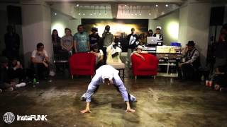 InstaFUNK 2015 Popping & Locking Battle - Popping Hyun Joon - Popping Judge Solo