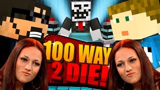 getlinkyoutube.com-Minecraft: 100 WAYS TO DIE CHALLENGE - CASH ME OUTSIDE HOW BOW DAH