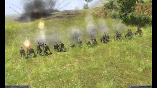 Men of war random weapon & artillery tests