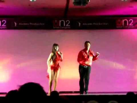 Eddie Torres and Griselle Ponce dance salsa New York style at 2011 On2 salsa congress in Milan