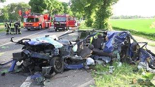 Video  - Tödlicher Unfall  Korschenbroich - Drei Tote