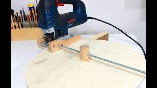 getlinkyoutube.com-Jigsaw Circle Cutting  Jig