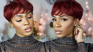 getlinkyoutube.com-BirthSLAY GRWM 🎈🎉 Makeup, Hair + Outfit ▸ VICKYLOGAN