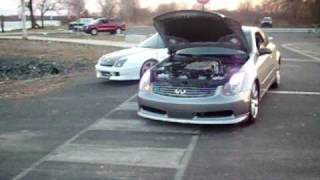 getlinkyoutube.com-What a g35 Sounds like with a Vortech Supercharger