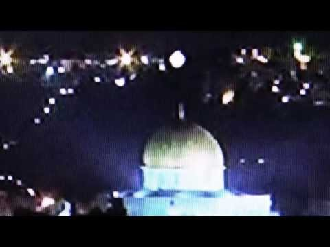 2nd UFO Jerusalem Dome of the Rock Temple Mount  UFO video surfaces from 0128_2011.