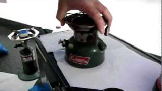 COLEMAN 502 COOKSTOVE REVIEW
