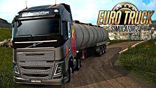 getlinkyoutube.com-Euro Truck 2: Mapa Eldorado - Descendo a Serra PERIGOSA!!!