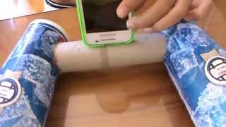getlinkyoutube.com-Como hacer unos altavoces para tu telefono movil