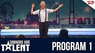getlinkyoutube.com-Multigøgleren Kasper Jensen - Danmark har talent - Program 1
