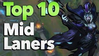 getlinkyoutube.com-Top 10 Best Mid Laners in League of Legends History