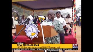 New Takoradi Road - AM News on JoyNews (13-12-17)