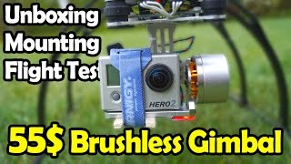 getlinkyoutube.com-45$ Brushless Gimbal from Goodluckbuy - Unboxing, Mounting, Flight Test