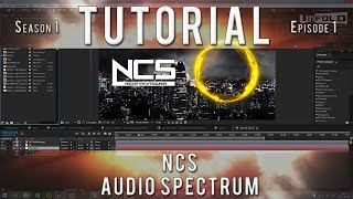 Tutorial/How to | NCS Audio Spectrum Effect | Circle Audio React | After Effects Tutorial