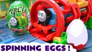getlinkyoutube.com-Thomas and Friends Surprise Eggs Toy Trains | Thomas y sus amigos Kinder huevos sorpresa TT4U