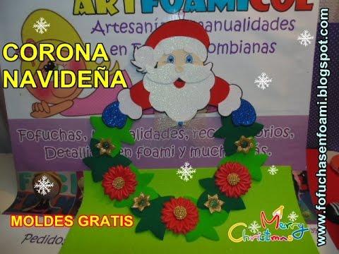 Escuchar Como Hacer Papa Noel O Santa Claus Con Moldes Para Bota ...