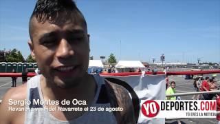 Sergio Montes de Oca vs Fidel Navarrete la revancha