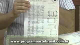 getlinkyoutube.com-ARTE BRASIL -- CLAUDIA WADA -- CARTEIRA EM CARTONAGEM (11/03/2011 - Parte 2 de 2)