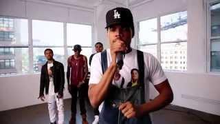 getlinkyoutube.com-XXL Freshmen 2014 Cypher - Part 1 - Chance The Rapper, Isaiah Rashad, August Alsina & More