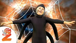 getlinkyoutube.com-Zouzounia feat. Anna Rose & Amanda - Incy Wincy Spider