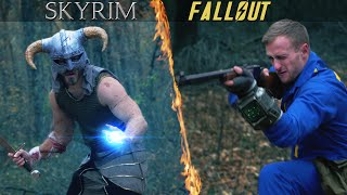 getlinkyoutube.com-Fallout vs Skyrim
