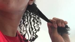 getlinkyoutube.com-Wash n go with Eco styler gel