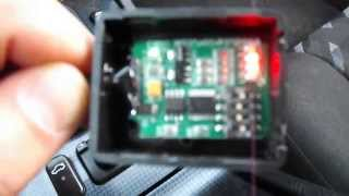 getlinkyoutube.com-C 220 W202 SRS passenger seat bypass unit