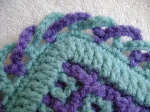 Interlocking Crochet™ - Criss-Cross Edging