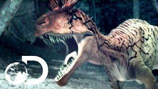 getlinkyoutube.com-Cryolophosaurus Battle - Reign of the Dinosaurs