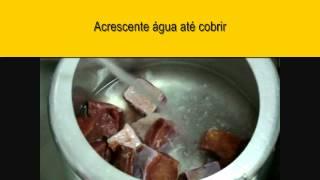 getlinkyoutube.com-Como dessalgar e desfiar Carne-seca em poucos minutos