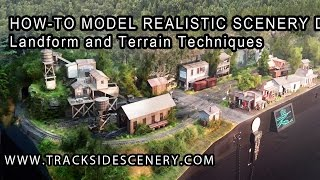 getlinkyoutube.com-How-To Make Realistic Model Railroad Scenery - Landforms and Terrain Techniques