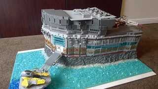 LEGO Star Wars Clone Sea base on Talus( Base #3)