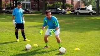 getlinkyoutube.com-Goalkeeper Footwork and Catching Drills