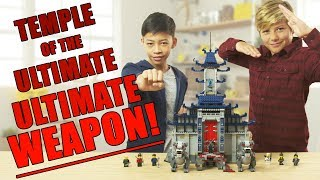 LEGO NINJAGO Temple of the ULTIMATE Ultimate Weapon Unboxing - The Build Zone