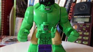 getlinkyoutube.com-decool 레고 녹색 헐크, 큰사이즈로 독특한 모습의 중국 짝퉁 장난감 소개와 조립