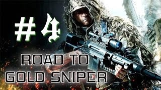 getlinkyoutube.com-Call Of Duty Ghosts: Road To Gold Sniper #4 [USR] Maniac Da Sdraiato