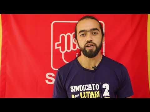 Vídeo: apoio à Chapa 2 – Sindicato é Pra Lutar! – Firmes Com a Base