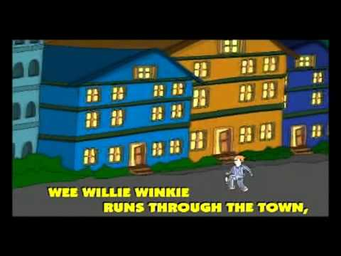 Wee Willie Winkie - Nursery Rhyme with Lyrics