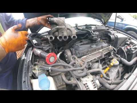 Как снять головку блока двигателя VOLKSWAGEN SEAT AUDI 1 9 TDI