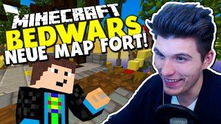 NEUE MAP FORT!  ✪ Minecraft Bedwars Woche Tag 112 mit GommeHD