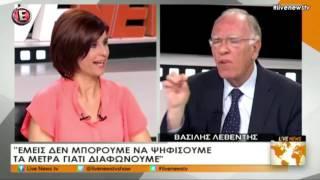 Β. Λεβέντης / LiveNews, E TV / 26-3-2017